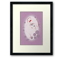 Allure - Greek Goddess Framed Print