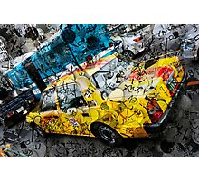 Tokyo  Taxi Photographic Print