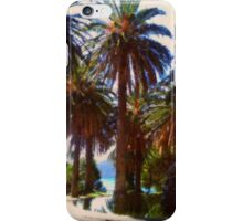 Tropical Palm Trees, beach iPhone Case/Skin