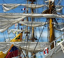 tall ship by Quasebart