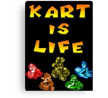 Kart is Life Canvas Print
