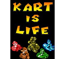 Kart is Life Photographic Print