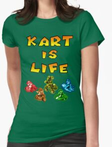 Kart is Life Womens Fitted T-Shirt