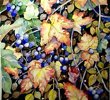 Autumn Berries by Tania Richard
