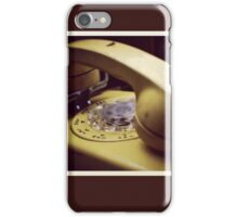 Rotary Phone iPhone Case/Skin