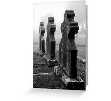 The Churchyard Guardians Greeting Card