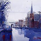 Wet Day in Bathurst, NSW by Joe Cartwright