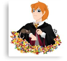 No-lined Ron Weasley Canvas Print