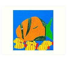 Coral Fish I Art Print
