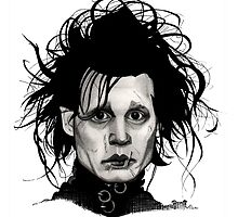 Tribute to Edward Scissorhands *RE-EDITED by Amanda Balboa