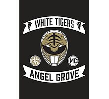 Angel Grove Motorcycle Club (White Tigers) Photographic Print