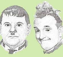 Laurel and Hardy by Barney Goodbrake