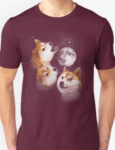 Three Doge Moon T-Shirt