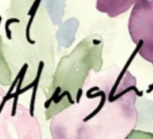 Girl Almighty Sticker
