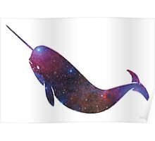 Narwhal - Galaxy Poster