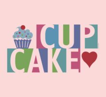 Cupcake love pink 4 Kids Clothes