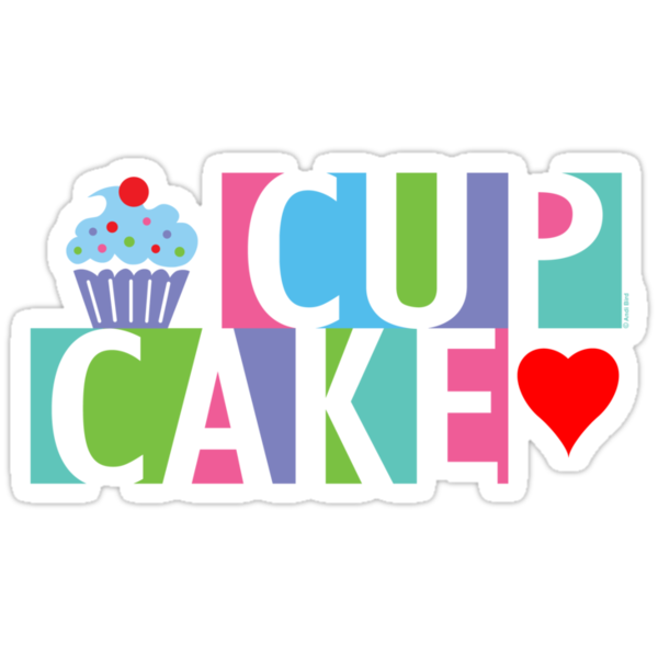 Cupcake love pink 4 by Andi Bird