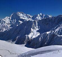Aoraki Mount Cook & Southern Alps - NZ by Dean Mullin