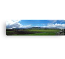 Kingussie Landscape Canvas Print