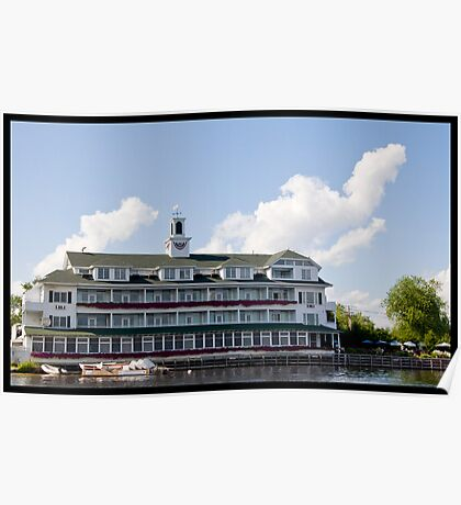 Inn At Bay Point - Meredith New Hampshire Poster