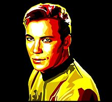 Retro James T Kirk by Dur-Baneth