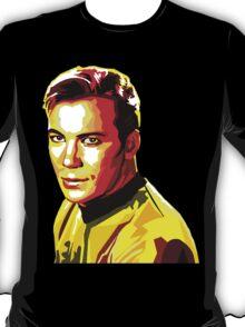 Retro James T Kirk T-Shirt