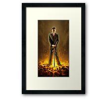 Blade of Fire Framed Print