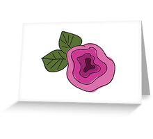 Flower of elegance Greeting Card