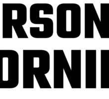 I Could Be A Morning Person Sticker