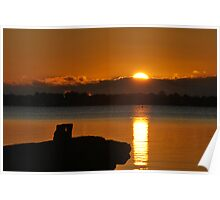 Tuggerah Lake.1  28-8-2010 Poster