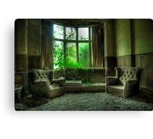 Potters Manor House - sitting room Canvas Print