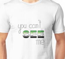 Aromantic: Invisible Identity Unisex T-Shirt