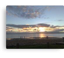 Winter Sunset at Coronet Bay, Victoria, Australia Canvas Print