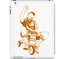 Man on a Tricycle iPad Case/Skin