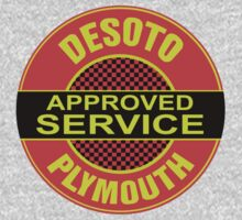 Desoto Plymonth Service Shirt One Piece - Long Sleeve