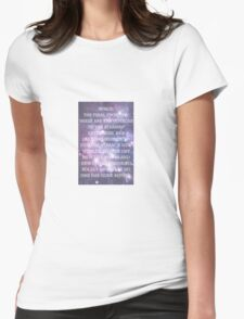 Space: The Final Frontier Womens Fitted T-Shirt