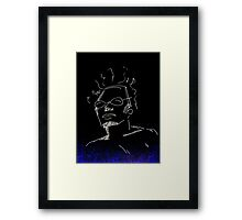 The cool dude  Framed Print