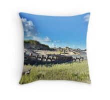 Fleetwood Wrecks . Throw Pillow