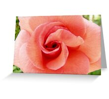 HORUS EYE ROSE Greeting Card