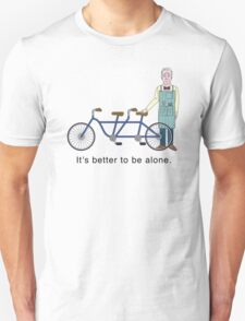 JD Salinger's Tandem Bicycle T-Shirt