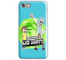 Rick and Morty vs The World iPhone Case/Skin