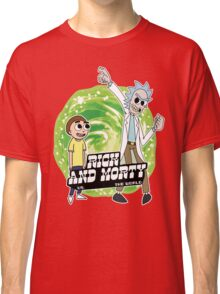 Rick and Morty vs The World Classic T-Shirt