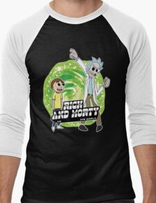 Rick and Morty vs The World Men's Baseball ¾ T-Shirt