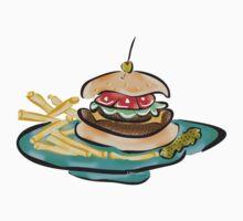 Double Soy Burger~(C) by Lisa Michelle Garrett