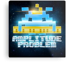Amplitude Problem Logo Wall Art Metal Print