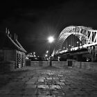 b/w runcorn widnes bridge by shaun-e