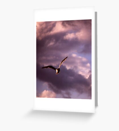 Sinister Sky Greeting Card