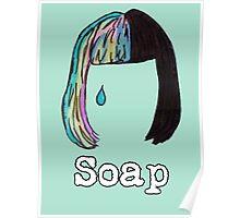 Melanie Martinez Soap Hair Design  Poster