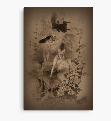 Madam Butterfly Canvas Print
