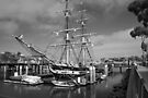 Larger Clipper Type Ship at Dana Point Harbor by Corri Gryting Gutzman